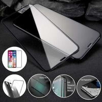 5D Full Coverage Tempered Glass Screen&Back Protector For iPhone X/XS Max XR 8
