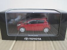 KYOSHO TOYOTA YARIS 5 DOOR 2011-2014 in RED METALLIC 1/43 MODEL CAR