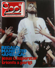 CIAO 2001 19 1972 Jesus Christ Humble Pie Moody Blues Nuova Idea Pete Seeger