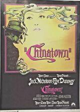 CHINATOWN MOVIE POSTER(1974)