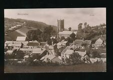 Devon BERRYNARBOR General view Church used c1914 RP PPC