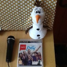 Singstar Ultimate Party PS3 1  Mic girls  sing game let it go Olef not  sale