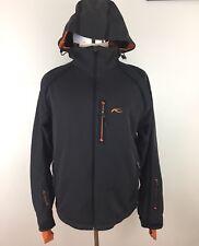 kjus Formula Dermizax Mens Grey Orange Ski Snowboard Jacket Size XL