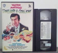 VHS FILM Ita Commedia DINOSAURI A COLAZIONE walter matthau ex nolo no dvd(VHS16)