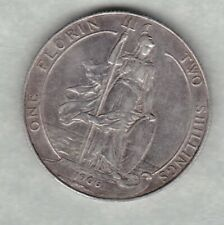More details for 1906 edward vii silver florin in very fine condition