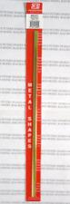 K&S 8245 .064 x 1/4 (1.63 x 6.35 x 12.70mm) Brass Strip (Pk1)