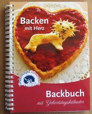 Backbuch mit Geburtstagskalender * BACKEN MIT HERZ * / ähnlich Landfrauen