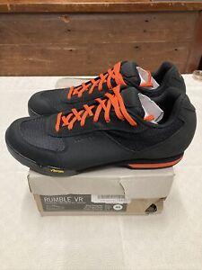 ! Giro Rumble VR Cycling MTB Bike Shoes Mens  Size 10 1/2 US Black/Glowing Red