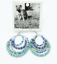 New Pair of Dangling Seed Bead Earrings by Anthropologie NWT #E1311