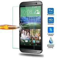 2x HTC One M9 High Quality Premium Real Tempered Glass Screen Protector