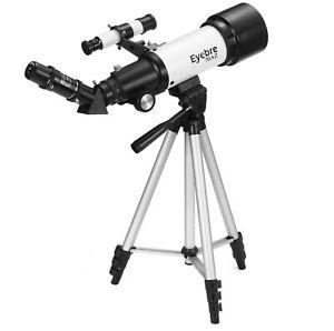 Telescope astronomical with portable tripod sky monocular telescopio space