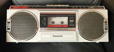 VINTAGE PANASONIC GHETTO BLASTER   AM/FM STEREO RADIO CASSETTE PLAYER   RX-4830
