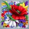Flower 5D Diamond DIY Painting Craft Kit Home Decor E0Xc