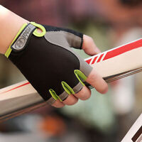 1 Pair Anti-Slip Unisex Sport Half Finger Gloves Cycling Bike Glove Size M~XL