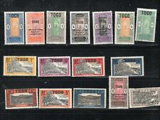 TOGO  AFRICA STAMPS  SOME FRENCH OCCUPATION USED & MINT HINGED  LOT 13521