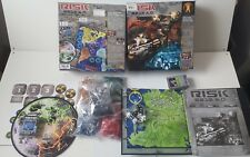 Risk 2210 A.D. Board Game, Boxed, Complete,Mostly Sealed
