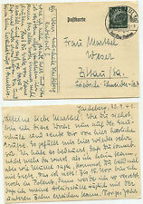 04490 - Postkarte - Radebeul nach Zittau - 1.10.1941 - SST - Gauschule