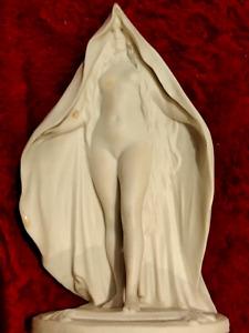 Antique Sevres Porcelain Nude Lady Biscuit Figurine