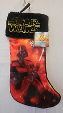 Christmas Stocking NWT Disney Star Wars Holiday Decor Black & Red