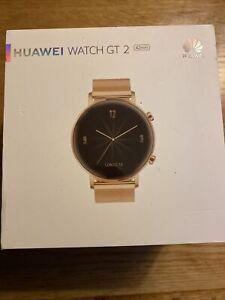 Huawei GT 2 Pro F5F 42mm Rose Gold Milanese Strap Smart Watch