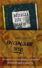 Kit Destroza Este Diario en Cualquier Sitio. Libros Singulares. Autoayuda