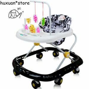 2020 Wheel Cushion Baby Walker 6-18 Months Anti-rollover Scooter Music Toy Car