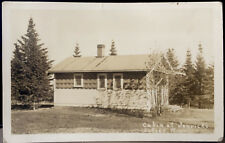 LUTSEN, MINNESOTA, Post Card 1941 Cook County, CABIN AT JONVICK'S