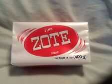 6  Pink Zote Laundry Soap Bars 14.1oz (400g)- Free Priority Shipping!!