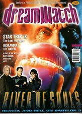 DREAMWATCH - UK MAGAZINE  - VINCENT WARD - BABYLON 5 -   DEC 1998 #52