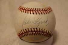 John Kruk Signed Autographed Baseball Philadelphia Phillies San Diego Padres
