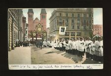 Switzerland LUZERN Procession relegion 1904 u/b PPC