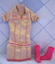I Can Be A Pet Zookeeper zoo Vet Dr Clothes Mini Dress/PINK Boots Shoes OUTFIT