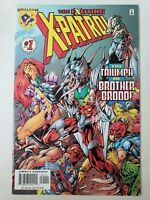 THE EXCITING X-PATROL #1 (1997) MARVEL DC AMALGAM COMICS! BRYAN HITCH ART! NM