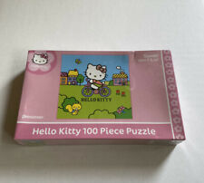 Hello Kitty Riding Bicycle 100-piece Puzzle New And Sealed