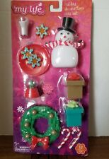 """My Life As Holiday Decorations Play Set for 18"""" Doll"""