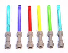 6x LEGO® Laserschwert Lichtschwert 64657/30374 NEU 5 Farben Star Wars Clone Wars