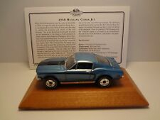 Mustang Cobra Jet 1968 LE With Certificate Matchbox
