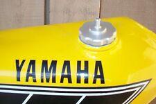1974-76 Yamaha YZ/MX/TY80/100/125/175/250/360/400, 76-77 TT/XT500 Billet Gas Cap