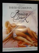 PREMIERS DESIRS !  david hamilton affiche cinema  erotique