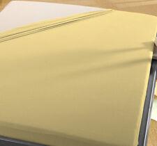 2 Biber Spann Betttücher 90x190 bis 100x200 cm NATUR B Ware