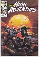 "Complete 4 Comic Set - Amazing High Adventure - Marvel 1986 ""Great Artists"""
