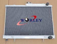 For Nissan Skyline R33 R34 GTR GTS-T all aluminum radiator 50mm