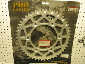 Pro Series Rear Aluminum Sprocket 5254- 50 tooth DIRT Thrower KTM Husaberg NOS