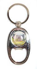 Irish Round Metal Bag Purse Keyring Charm Bottle Opener Kilkenny Castle