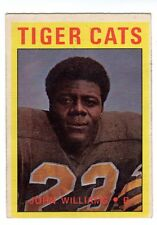 1X JOHN WILLIAMS 1972 O Pee Chee CFL #2 EX TIGER CATS