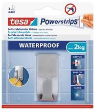 tesa Powerstrips® 59707 / 59708 / 59709 / 59710 Waterproof Haken Zoom Metall