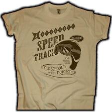 Speed track Biker t-shirt Chopper rythm us car Hot Rod v8 rockabilly tatuaje