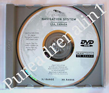 2002 2003 JAGUAR XJR XJ8 RANGE SPORT LUXURY SEDAN VANDEN PLAS NAVIGATION CD DVD
