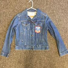Levi Womens Medium 1984 Los Angeles USA Olympic Team Denim Vintage Jacket