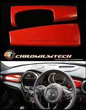 RED Dashboard Panel Cover for MK3 MINI Cooper/S/ONE F55 F56 Hatch F57 LHD ~NEW~